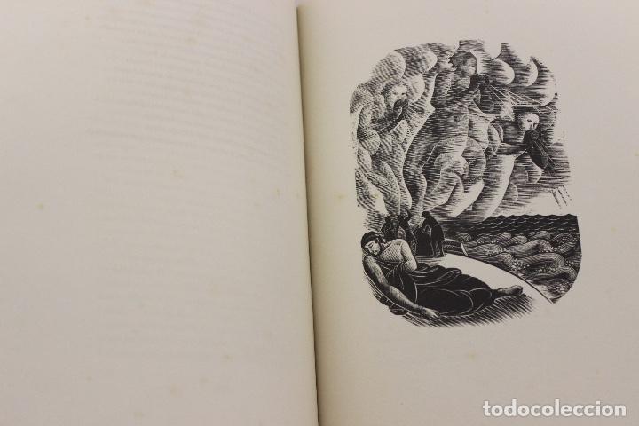 Libros de segunda mano: LA ODISSEA DE HOMER, TRADUCIDA AL CATALÁN POR CARLES RIBA GRABADOS A LA MADERA POR E.C. RICART. 1948 - Foto 12 - 152301842
