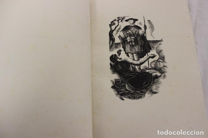 Libros de segunda mano: LA ODISSEA DE HOMER, TRADUCIDA AL CATALÁN POR CARLES RIBA GRABADOS A LA MADERA POR E.C. RICART. 1948 - Foto 22 - 152301842