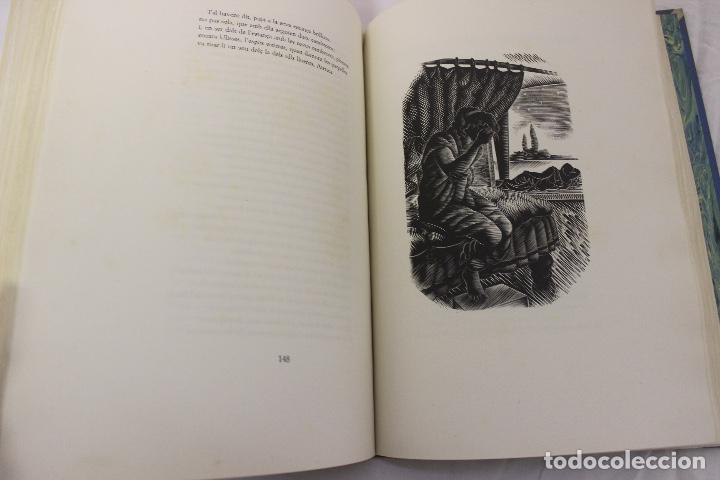 Libros de segunda mano: LA ODISSEA DE HOMER, TRADUCIDA AL CATALÁN POR CARLES RIBA GRABADOS A LA MADERA POR E.C. RICART. 1948 - Foto 24 - 152301842