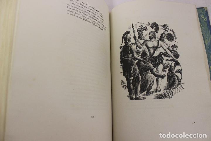 Libros de segunda mano: LA ODISSEA DE HOMER, TRADUCIDA AL CATALÁN POR CARLES RIBA GRABADOS A LA MADERA POR E.C. RICART. 1948 - Foto 25 - 152301842