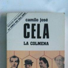 Libros de segunda mano: LA COLMENA EDICIÓN PROLOGADA POR SU HIJO. Lote 152530989
