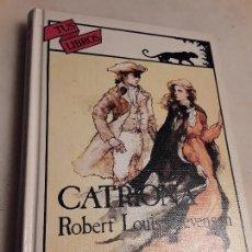 Libros de segunda mano: CATRIONA, DE R. L. STEVENSON. ANAYA, TUS LIBROS Nº 51. EXCELENTE ESTADO.. Lote 218546721