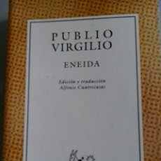 Libros de segunda mano: ENEIDA. PUBLIO VIRGILIO. Lote 152719262