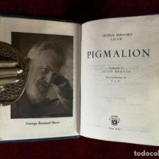 Livres d'occasion: AGUILAR CRISOL Nº 8 BIS GEORGE BERNARD SHAW PIGMALION 1RA ED. 1945. Lote 153206106