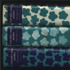 Libros de segunda mano: LAS MIL Y UNA NOCHES - (CÍRCULO DE LECTORES, OBRA COMPLETA EN 3 VOLS ANÓNIMO CÍRCULO DE LECTORES. Lote 153425686