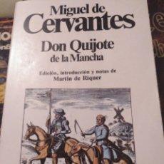 Libros de segunda mano: DON QUIJOTE DE LA MANCHA. MIGUEL DE CERVANTES. ED. PLANETA. 1988. Lote 153563609