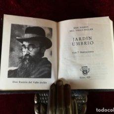 Livres d'occasion: AGUILAR CRISOL CRISOLIN Nº 029 DON RAMON DEL VALLE INCLAN JARDIN UMBRIO 1969. Lote 153663226