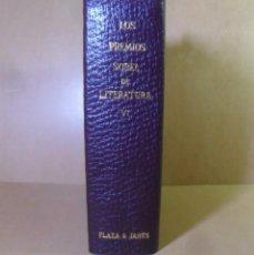 Libros de segunda mano: LOS PREMIOS NOBEL DE LITERATURA VI - PLAZA & JANES - 1967. Lote 153824134
