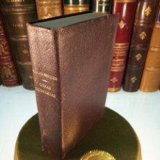 Libros de segunda mano: OBRAS COMPLETAS - GUSTAVO ADOLFO BÉCQUER - M. AGUILAR - MADRID . 1934 -. Lote 153951530
