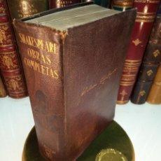 Libros de segunda mano: OBRAS COMPLETAS - WILLIAN SHAKESPEARE - M. AGUILAR - PRIMERA EDICIÓN - 1929 - . Lote 153992886