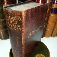 Libros de segunda mano: OBRAS ESCOGIDAS - ARMANDO PALACIO VALDES - M. AGUILAR - 1942 - MADRID - CORTES DECORADOS -. Lote 154011266
