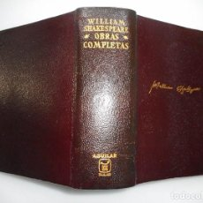 Libros de segunda mano: WILLIAM SHAKESPEARE OBRAS COMPLETAS Y92867. Lote 154157234