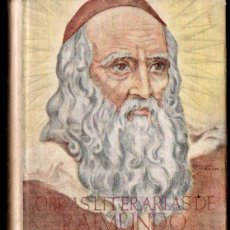 Libros de segunda mano: RAMON LLULL : OBRAS LITERARIAS (BIBLIOTECA AUTORES CRISTIANOS, 1948). Lote 155001498