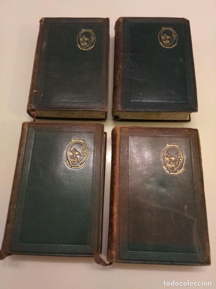 Libros de segunda mano: JACINTO BENAVENTE OBRAS COMPLETAS AGUILAR 4 TOMOS III a VI CANTOS DECORADOS - Foto 4 - 155177486