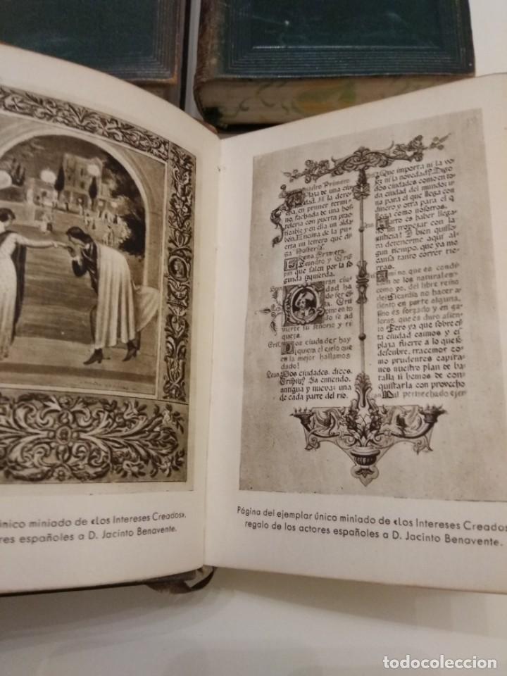 Libros de segunda mano: JACINTO BENAVENTE OBRAS COMPLETAS AGUILAR 4 TOMOS III a VI CANTOS DECORADOS - Foto 6 - 155177486