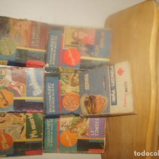 Libros de segunda mano: COLECCIÓN PUEYO DE NOVELAS SELECTAS 1 4 6 27 60 62 Y LA NIÑA DE LUZMELA DE CONCHA ESPINA. 1940. . Lote 155546382