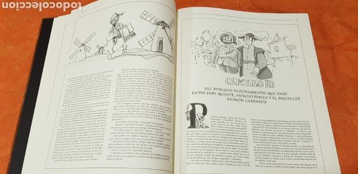 Libros de segunda mano: DON QUIJOTE DE LA MANCHA, MINGOTE, II TOMOS.EDICION LIMITADA. - Foto 11 - 155601765