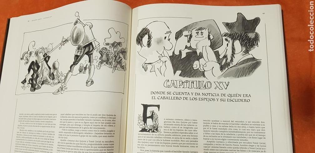 Libros de segunda mano: DON QUIJOTE DE LA MANCHA, MINGOTE, II TOMOS.EDICION LIMITADA. - Foto 12 - 155601765