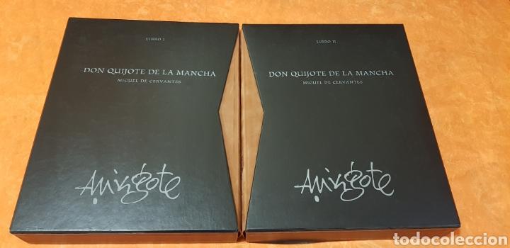 Libros de segunda mano: DON QUIJOTE DE LA MANCHA, MINGOTE, II TOMOS.EDICION LIMITADA. - Foto 2 - 155601765