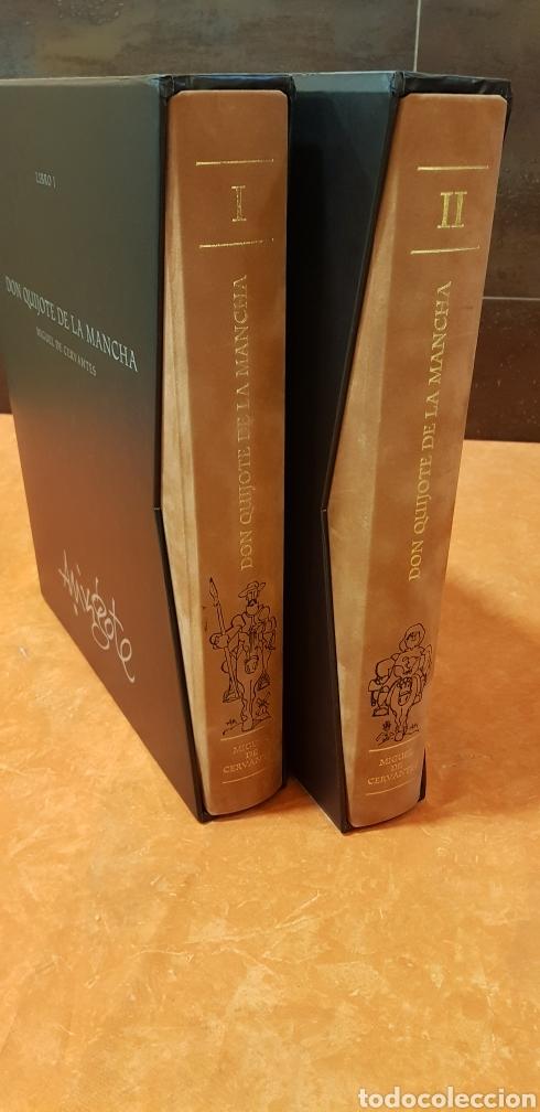 DON QUIJOTE DE LA MANCHA, MINGOTE, II TOMOS.EDICION LIMITADA. (Libros de Segunda Mano (posteriores a 1936) - Literatura - Narrativa - Clásicos)