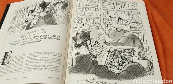 Libros de segunda mano: DON QUIJOTE DE LA MANCHA, MINGOTE, II TOMOS.EDICION LIMITADA. - Foto 5 - 155601765