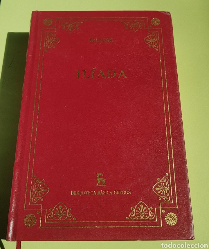 LA ILIADA - HOMERO - TDK16 (Libros de Segunda Mano (posteriores a 1936) - Literatura - Narrativa - Clásicos)