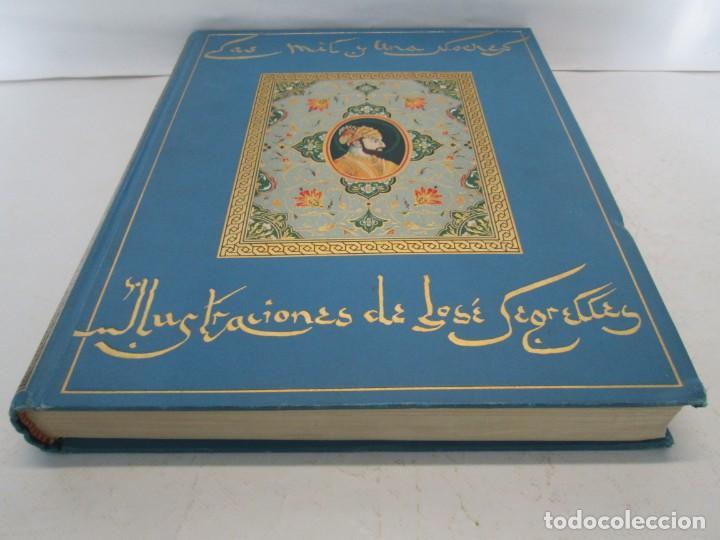 Libros de segunda mano: LAS MIL Y UNA NOCHES. ILUSTRACIONES JOSE SEGRELLES. SALVAT 1956. - Foto 3 - 156044874