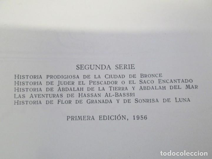 Libros de segunda mano: LAS MIL Y UNA NOCHES. ILUSTRACIONES JOSE SEGRELLES. SALVAT 1956. - Foto 8 - 156044874