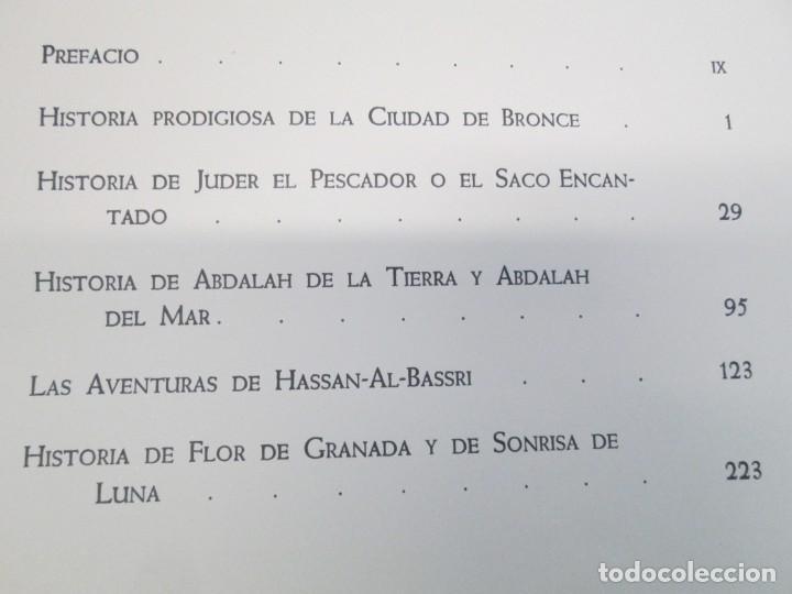 Libros de segunda mano: LAS MIL Y UNA NOCHES. ILUSTRACIONES JOSE SEGRELLES. SALVAT 1956. - Foto 9 - 156044874