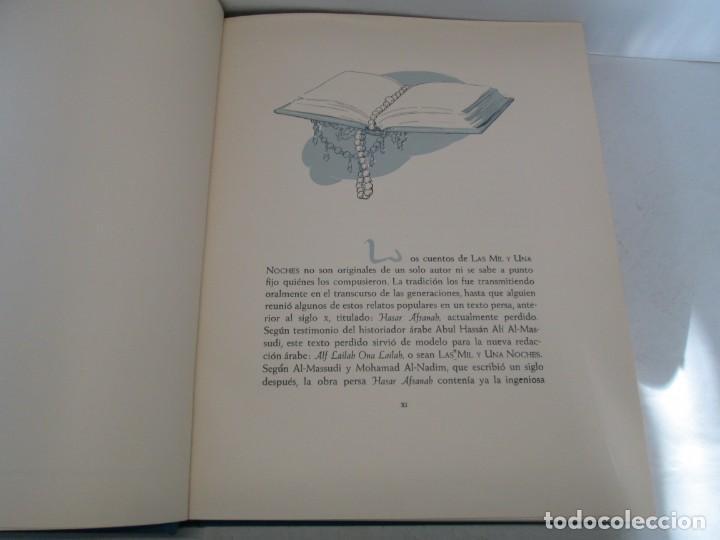 Libros de segunda mano: LAS MIL Y UNA NOCHES. ILUSTRACIONES JOSE SEGRELLES. SALVAT 1956. - Foto 10 - 156044874