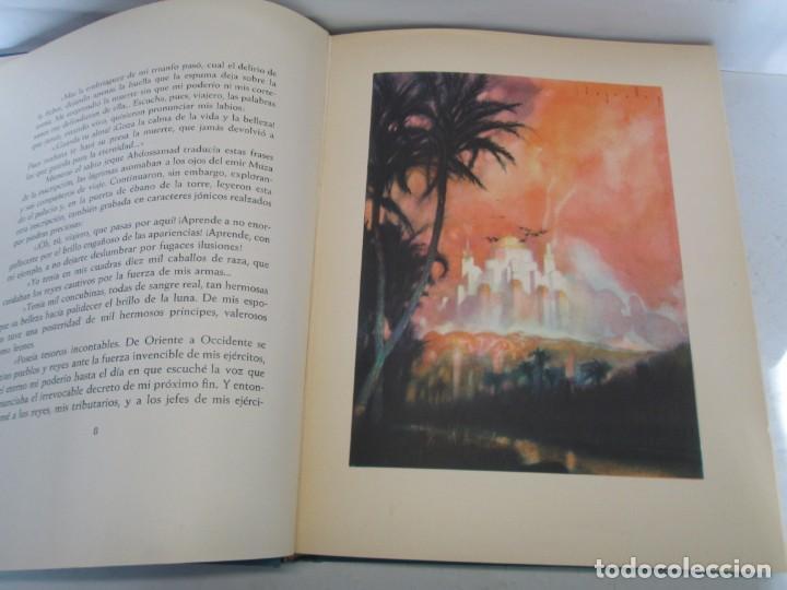 Libros de segunda mano: LAS MIL Y UNA NOCHES. ILUSTRACIONES JOSE SEGRELLES. SALVAT 1956. - Foto 11 - 156044874