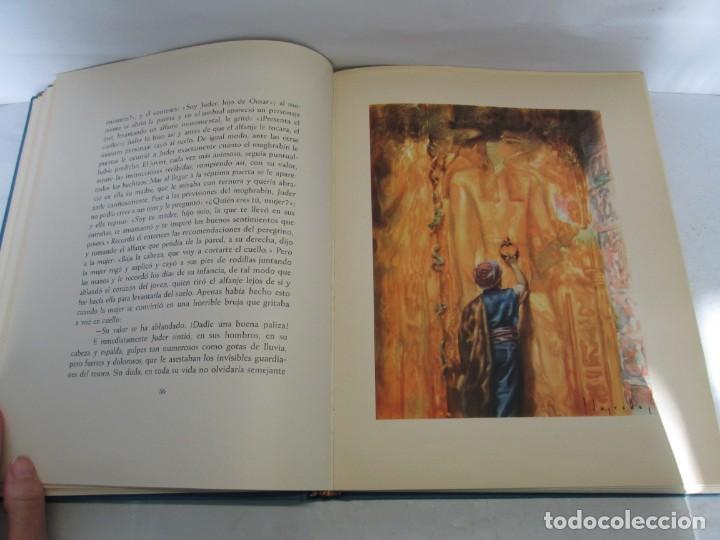 Libros de segunda mano: LAS MIL Y UNA NOCHES. ILUSTRACIONES JOSE SEGRELLES. SALVAT 1956. - Foto 13 - 156044874