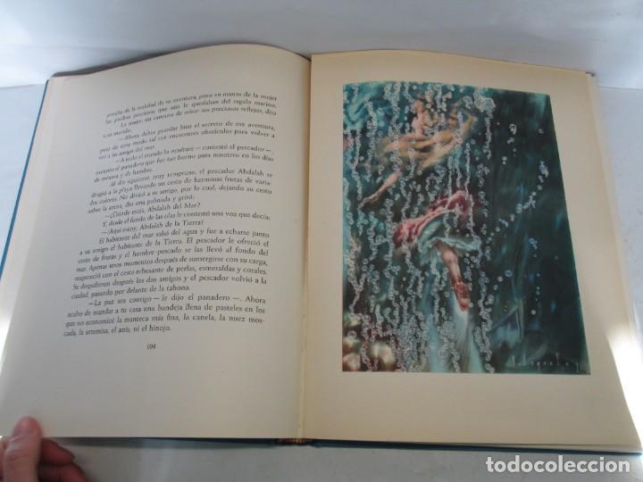 Libros de segunda mano: LAS MIL Y UNA NOCHES. ILUSTRACIONES JOSE SEGRELLES. SALVAT 1956. - Foto 14 - 156044874