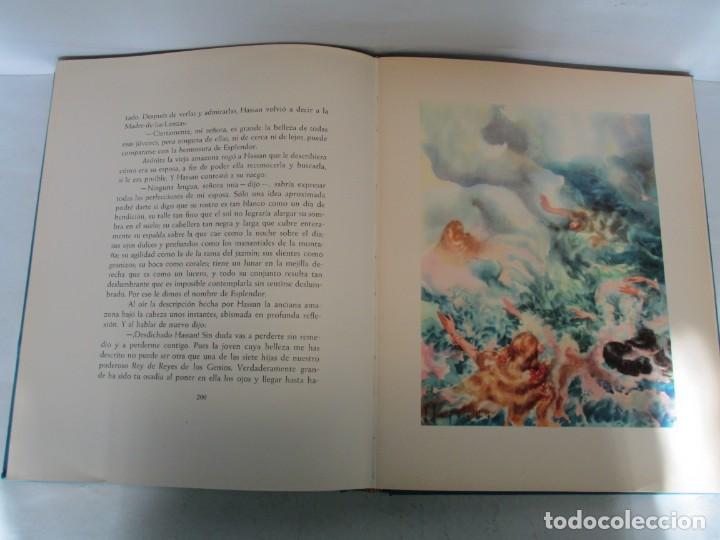 Libros de segunda mano: LAS MIL Y UNA NOCHES. ILUSTRACIONES JOSE SEGRELLES. SALVAT 1956. - Foto 16 - 156044874