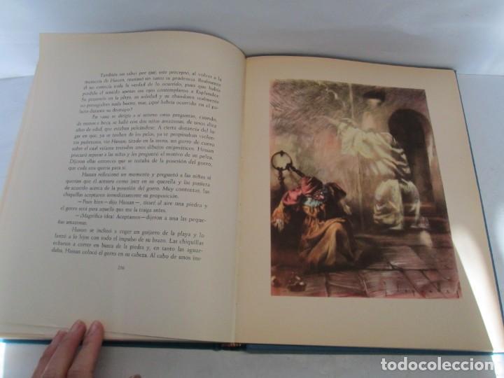 Libros de segunda mano: LAS MIL Y UNA NOCHES. ILUSTRACIONES JOSE SEGRELLES. SALVAT 1956. - Foto 17 - 156044874