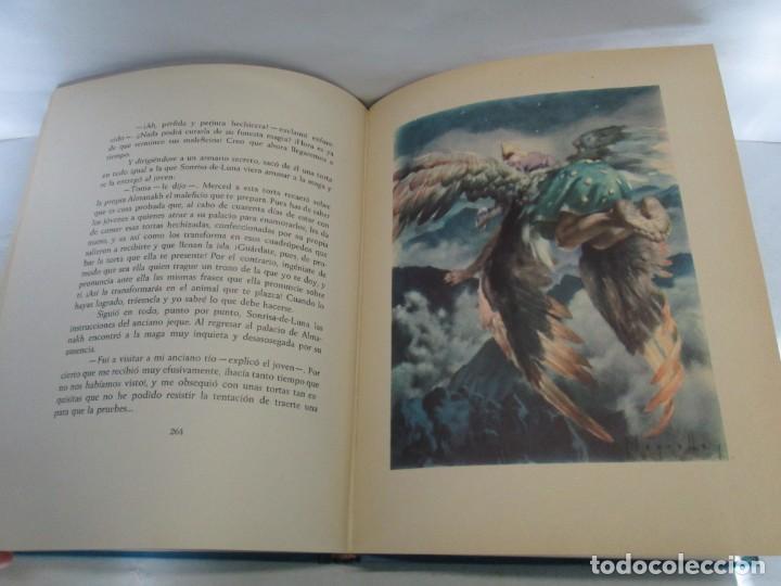 Libros de segunda mano: LAS MIL Y UNA NOCHES. ILUSTRACIONES JOSE SEGRELLES. SALVAT 1956. - Foto 18 - 156044874
