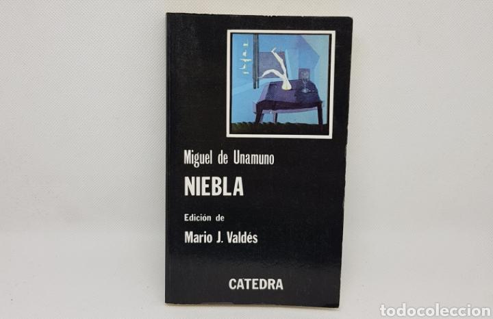 NIEBLA - UNAMUNO - CATEDRA - TDK16 (Libros de Segunda Mano (posteriores a 1936) - Literatura - Narrativa - Clásicos)