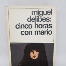 Libros de segunda mano - miguel delibes - cinco horas con mario - destinolibro 144 - tdk16 - 156339222