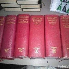 Libros de segunda mano: OBRAS COMPLETAS BENITO PEREZ GALDOS EDITORIAL AGUILAR OBRA COMPLETA. Lote 156456038