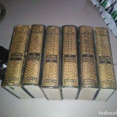 Libros de segunda mano: OBRAS COMPLETAS DE PEDRO MUÑOZ SECA. 6 T. PLENA PIEL. ED. FAX. Lote 156456338