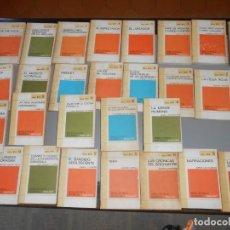 Libros de segunda mano: 29 LIBROS COLECCIÓN LIBRO RTV - BIBLIOTECA BÁSIA SALVAT-AÑOS 1969/70. Lote 156624482