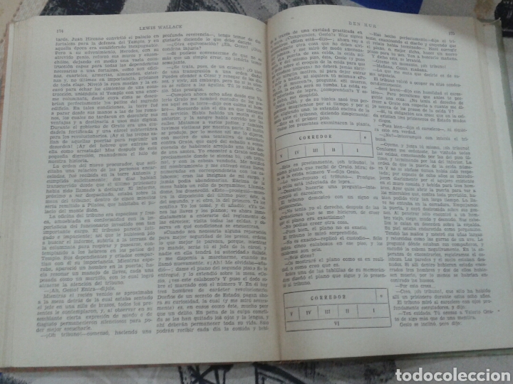 Libros de segunda mano: Libro Ben Hur. 1950. Wallace. Edición de Viada para Apostolado de la Prensa. - Foto 3 - 156633668