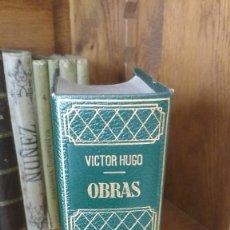 Libros de segunda mano: VICTOR HUGO, OBRAS TOMO IV.1967. Lote 156950218