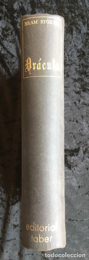 DRACULA - BRAM STOKER - EDITORIAL TABER - 1969 - ILUSTRADO (Libros de Segunda Mano (posteriores a 1936) - Literatura - Narrativa - Clásicos)