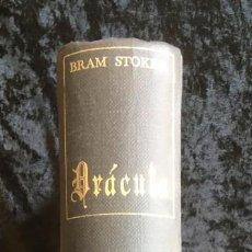 Libros de segunda mano: DRACULA - BRAM STOKER - EDITORIAL TABER - 1969 - ILUSTRADO. Lote 157257478