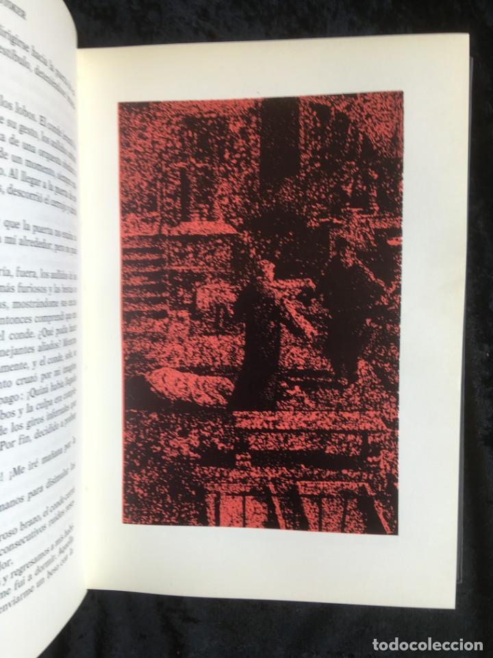 Libros de segunda mano: DRACULA - BRAM STOKER - EDITORIAL TABER - 1969 - ILUSTRADO - Foto 4 - 157257478