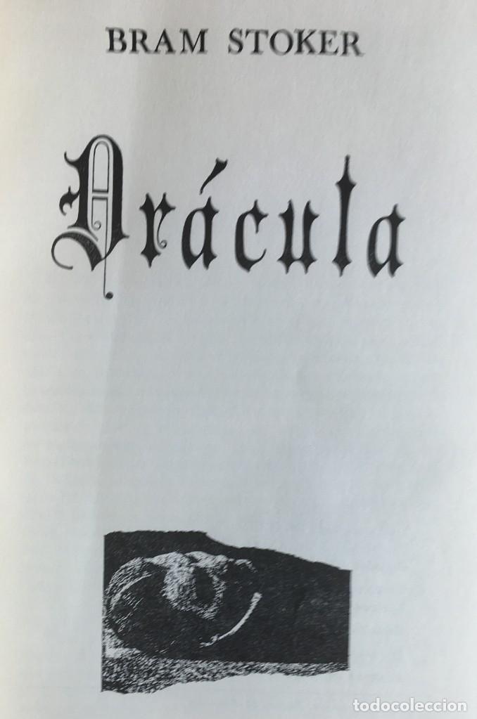 Libros de segunda mano: DRACULA - BRAM STOKER - EDITORIAL TABER - 1969 - ILUSTRADO - Foto 5 - 157257478