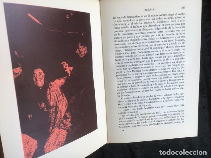 Libros de segunda mano: DRACULA - BRAM STOKER - EDITORIAL TABER - 1969 - ILUSTRADO - Foto 7 - 157257478