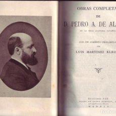 Libros de segunda mano: OBRAS COMPLETAS DE D. PEDRO ANTONIO DE ALARCON. PEDRO ANTONIO DE ALARCON.1943.. Lote 157911946