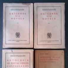 Libros de segunda mano: EDICIÓN NACIONAL DE LAS OBRAS COMPLETAS DE MENÉNDEZ PELAYO. Lote 157912042